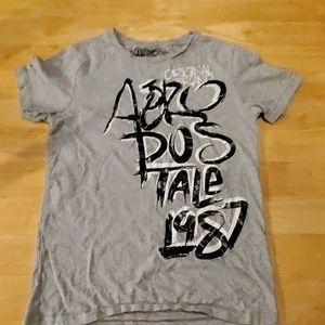 Aeropostale original brand grey shirt